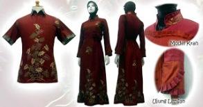 batik%2Bwanita%2B1 MODEL BAJU BATIK WANITA MODERN 2013